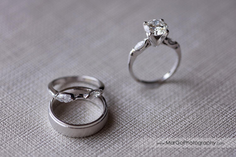 wedding rings at Pleasanton Marriott