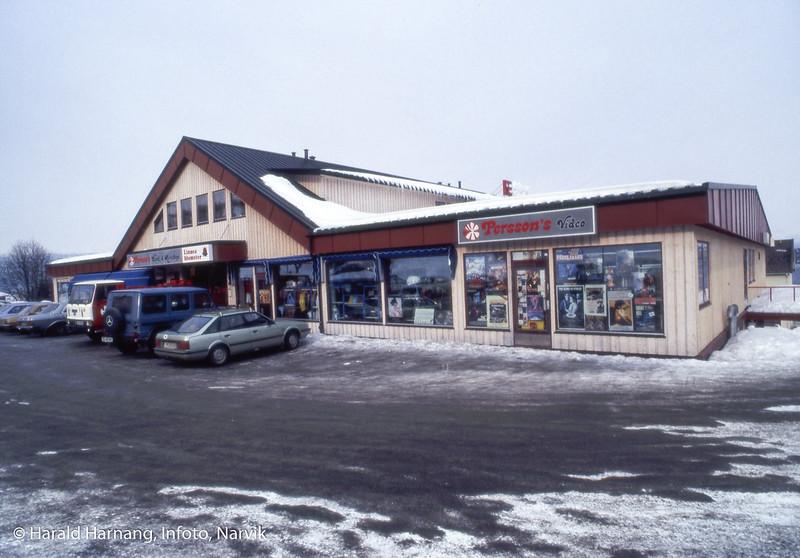 sentrumsgården på Ankenes.