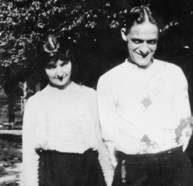 Florence and Al Bollin 1900