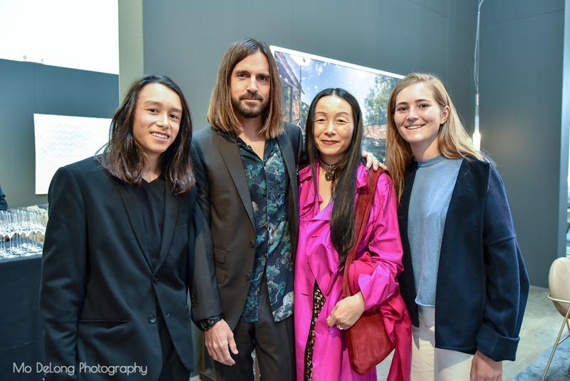 Zane and Craig Steely, Cathy Liu and Ottavia Boletto