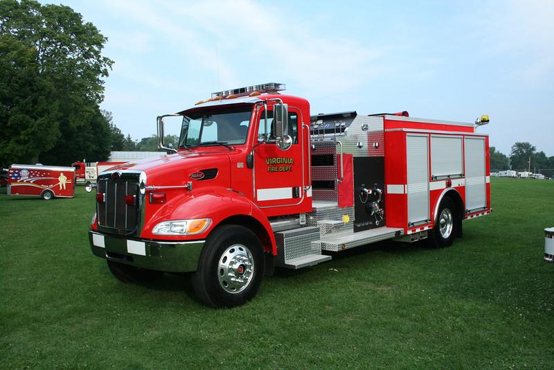 VIRGINIA FD,IL ENGINE PETERBILT / ALEXIS  MONROE FIRE SCHOOL,WI