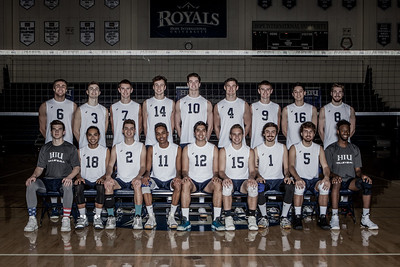 2018 HIU Men's Volleyball