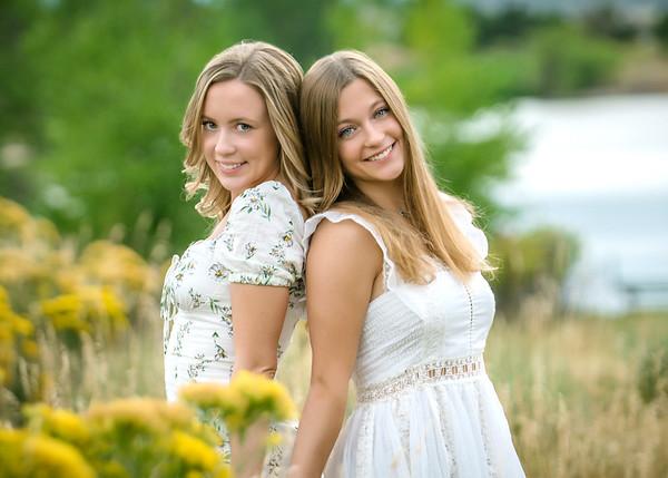 Megan and Sarah P