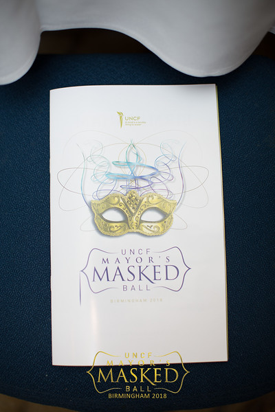 2018 UNCF Mayor's Masked Ball Event Photos 2/18