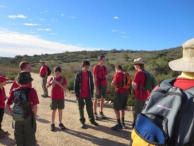 12/28/13 - Laguna Canyon Wilderness Day Hike
