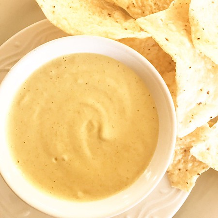 Vegan Green Chile Cheese Sauce