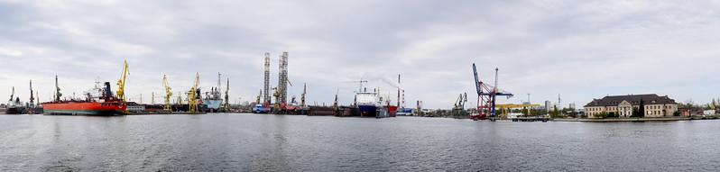 The convergence of Martwa Wista and Kaszubski Dry Docks