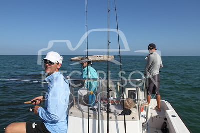 Fishin' with the guys