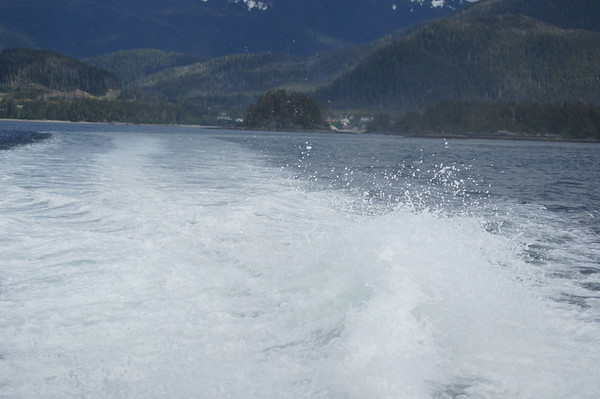 water spray st lazaria island sitka