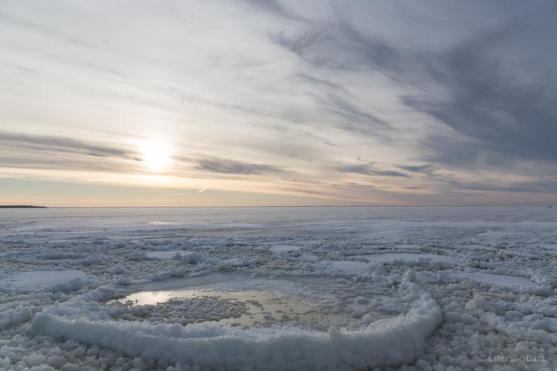 Sea ice at Hailuoto