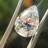 2.01ct Antique Pear Shape Diamond GIA G VS1 2
