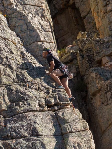 Ruth Lake Rock Climbing