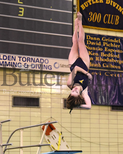 Paige Williams, Butler v. North Allegheny Wednesday 01/15/19 Seb Foltz/Butler Eagle