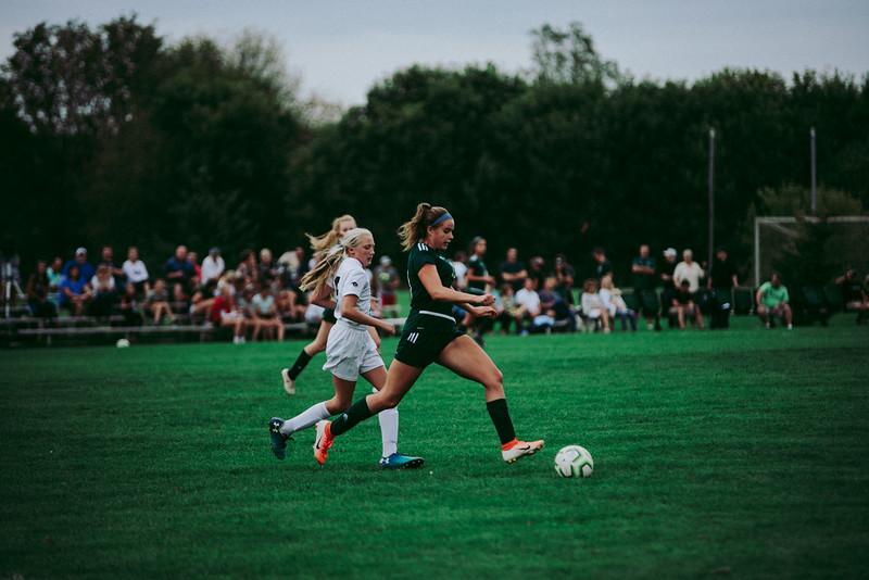 Holy Family Girls Varsity Soccer vs. Glencoe-Silver Lake, 9/24/19: Noelle Trombley '21 (33)