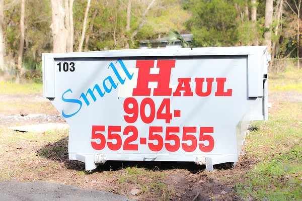 Small Haul Dumpster