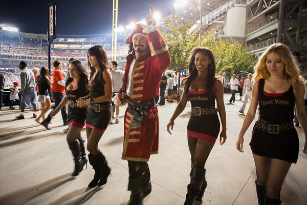 Captain Morgan @ Nationals Park (9.21.12)