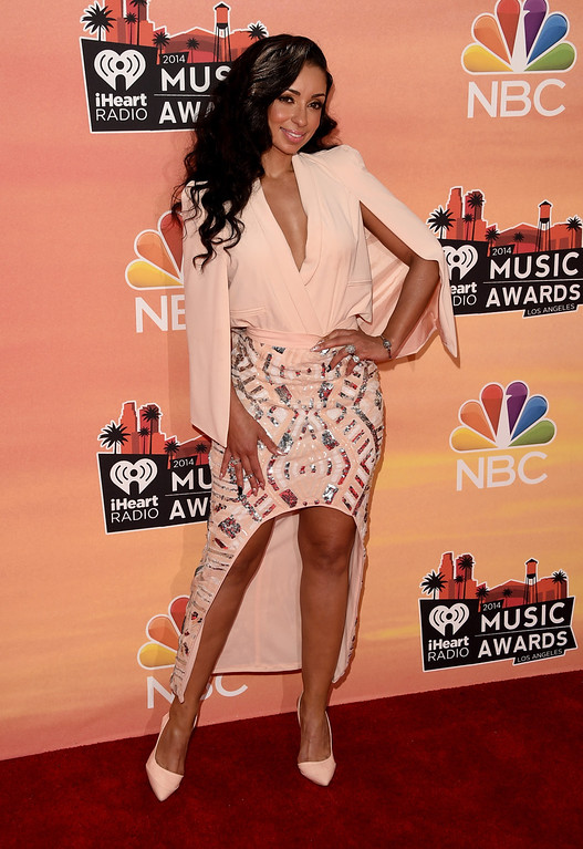 . LOS ANGELES, CA - MAY 01:  Singer Mya attends the 2014 iHeartRadio Music Awards held at The Shrine Auditorium on May 1, 2014 in Los Angeles, California. iHeartRadio Music Awards are being broadcast live on NBC.  (Photo by Jason Merritt/Getty Images for Clear Channel)