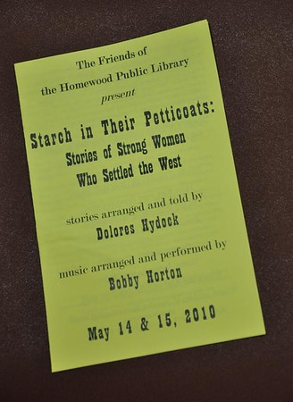 Starch in Their Petticoats w Dolores Hydock & Bobby Horton, May 2010