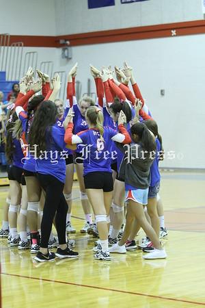 Hays v Lehman volleyball 2015