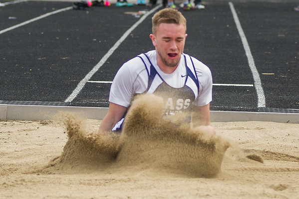2018 April Track and Field