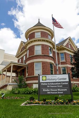 Kinder House, Des Plaines, Illinois June 2014