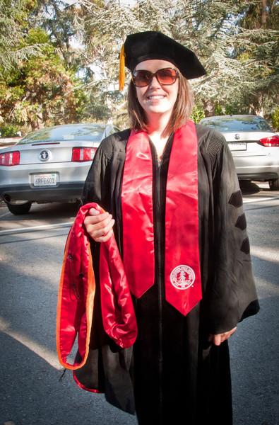 Dr. Sasha's Graduation (June 2012)
