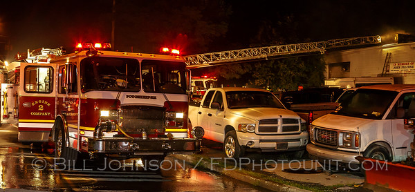 Structure Fire - Bobs Auto Body - Smith Street - City of Poughkeepsie FD -8/11/15