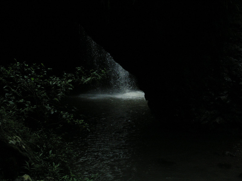 Inside cave - Natural Bridge