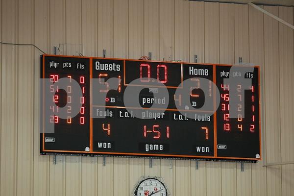 Varsity-Oak Grove vs Grain Valley 2-5-09