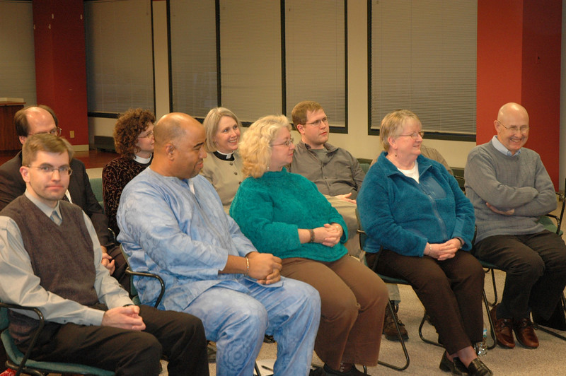 ELCA members were invited to participate as part of the live audience.