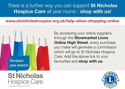 Online High Street - St Nicholas Hospice Care