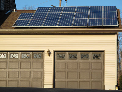 Solar House, Catawissa Road, Schuylkill Township (2-13-2012)