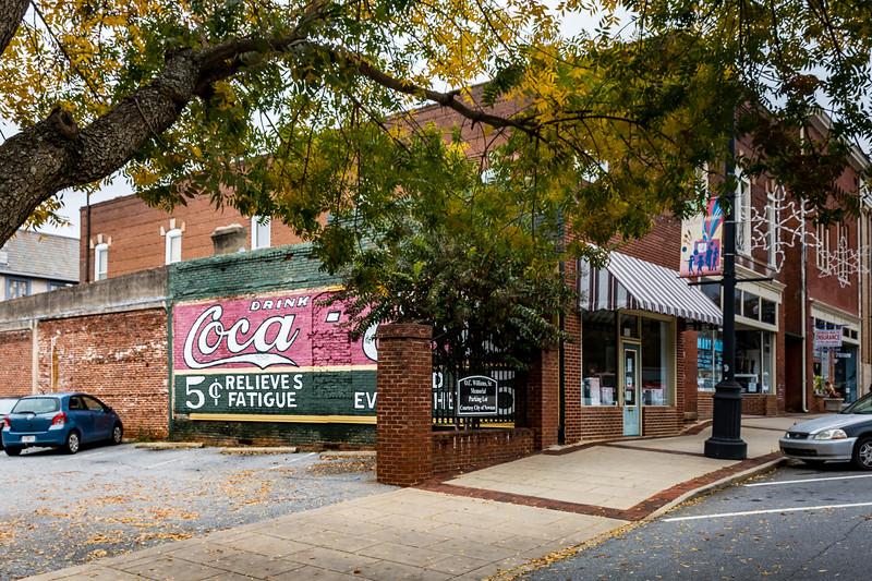 GA, Newnan - Coca-Cola Wall Sign