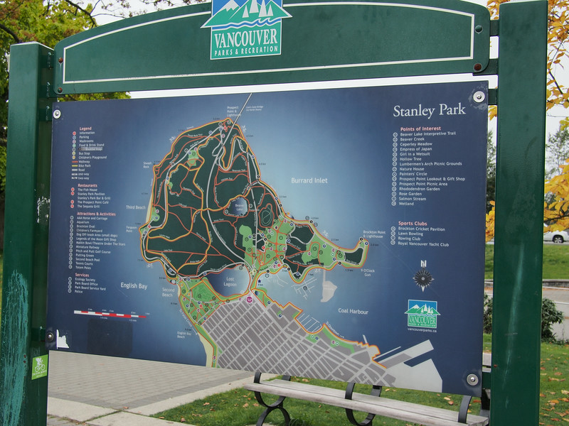 Oct. 20/13 - Map of Stanley Park
