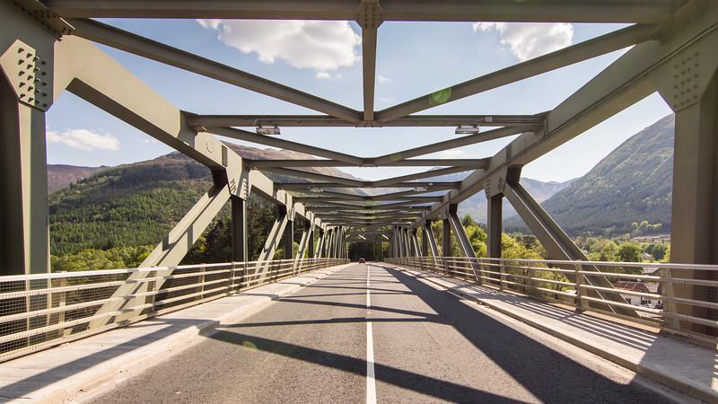 A82 at Ballachulish Bridge