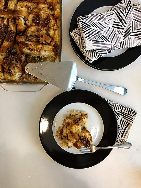 Serve Warm and Drizzle with Maple Syrup to Serve
