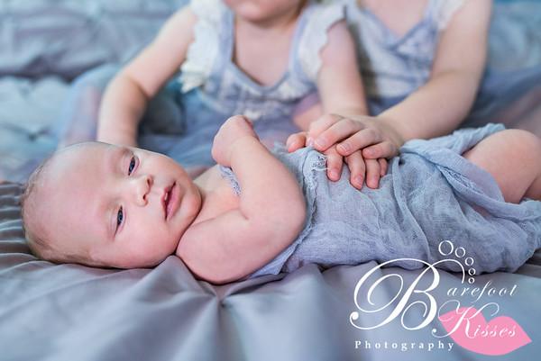 Cari Newborn Family Session