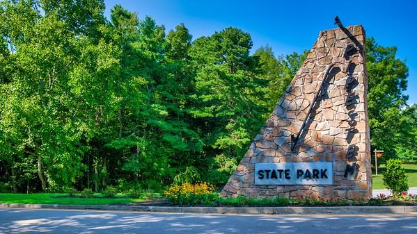 Pipestem Resort State Park (14 Images)