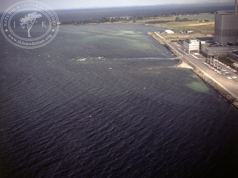 Barsebäck nuclear power plant, from the sea (1990) | PH.0025