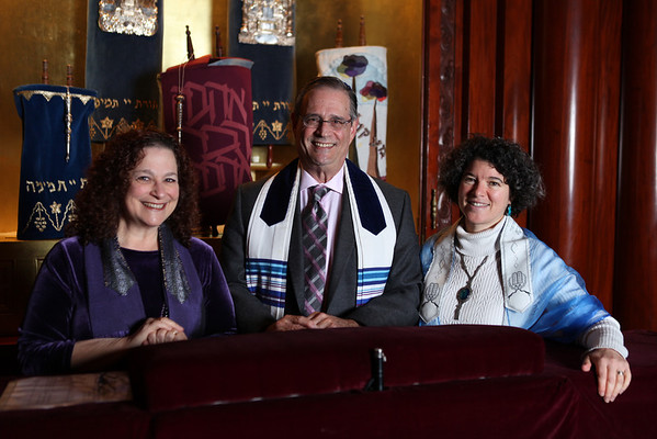 Music Directory Cantor Fran Burgess, Rabbi Larry Raphael, Rabbi Julie Saxe-Taller