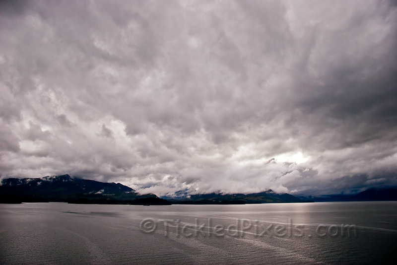 Ominous Skies over Icy Strait