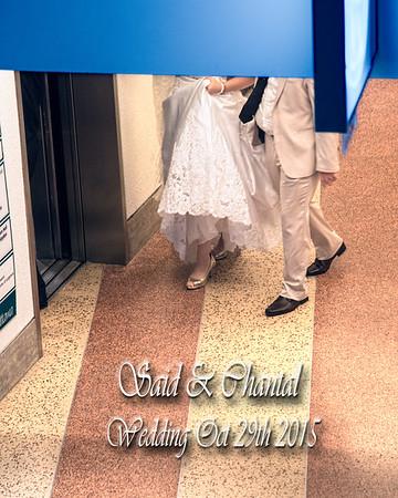 Said & Chantal Wedding Oct 29th 2015