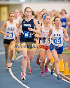 Women's 5K - by Ike - 2012 GVSU Big Meet