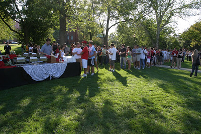 Welcome Week Picnic with the Buckeyes 2007