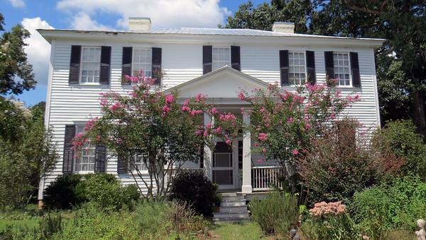 September 4, 2016:  Plantation house from 1830 .  .  .