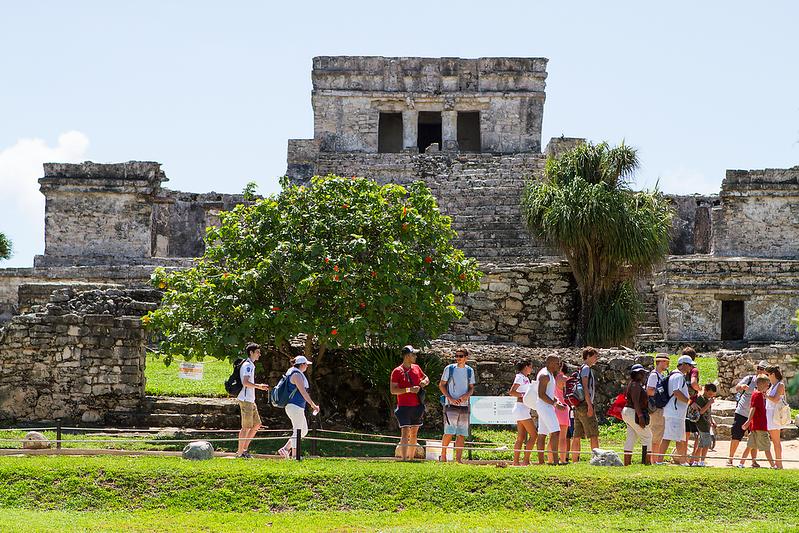 """Mayan Ruins of Tulum"", Tulum, Mexico"