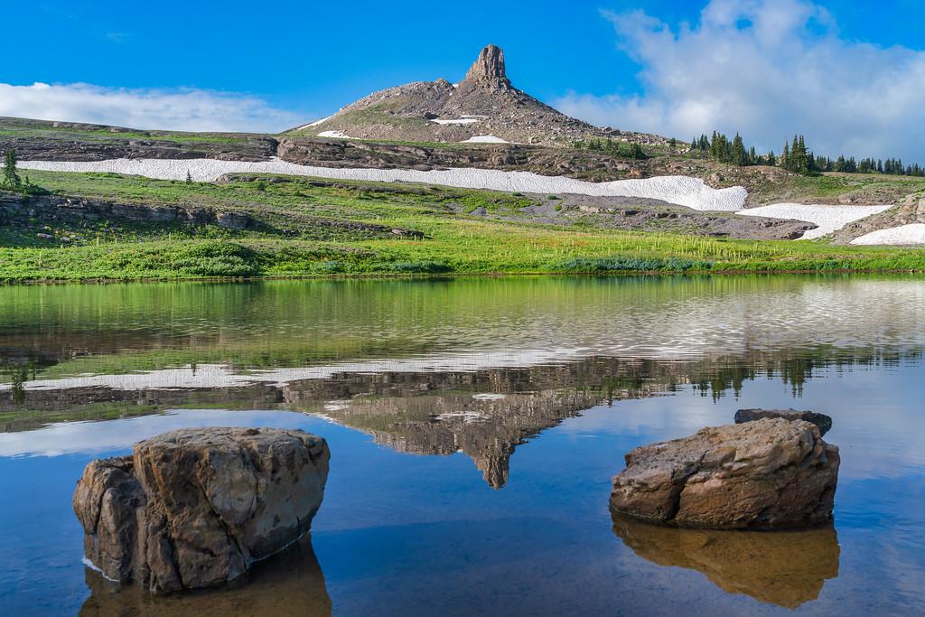 Crest Trail Fox Creek Pass Grand Teton National Park