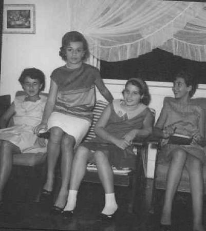 Lita Marvanejo, Lurdes Ferraz, Ana Maria Pereira, Misita Melo Abreu