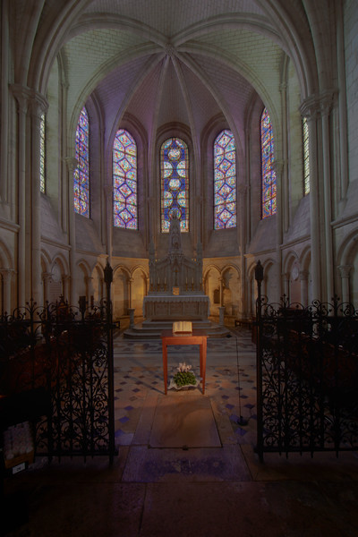 Troyes Saint Peter and Saint Paul Cathedral Axial Chapel