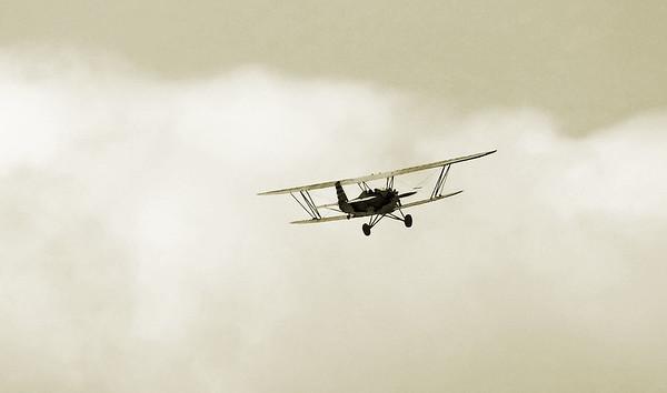 Nostalgic Warbird Flight Aug 2015